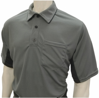 MLB Style Charcoal Grey Umpire Shirts