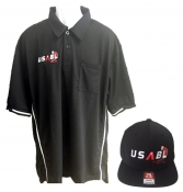 Combo Package - USABL Black Shirt & Black Combo Cap