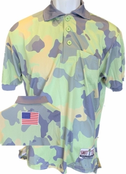 Woodland Camo Umpire Shirt